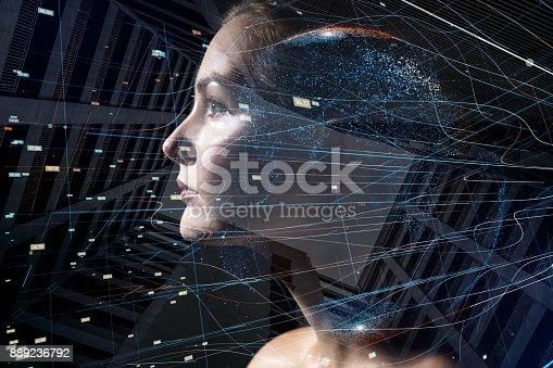 1049745706 istock photo AI (Artificial Intelligence) concept. 889236792