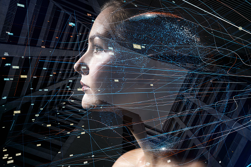 istock AI (Artificial Intelligence) concept. 889236792