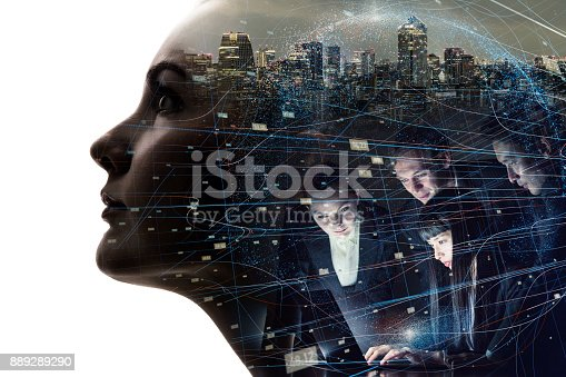istock AI (Artificial Intelligence) concept. 889289290