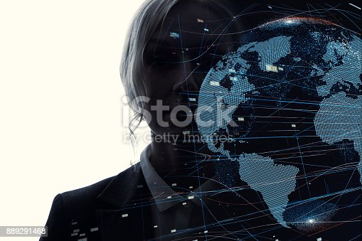 istock AI (Artificial Intelligence) concept. 889291468