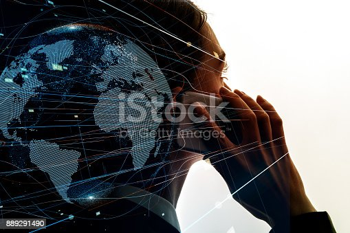 istock AI (Artificial Intelligence) concept. 889291490