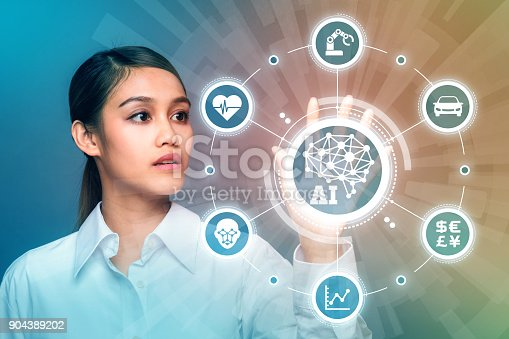 istock AI(Artificial Intelligence) concept. 904389202