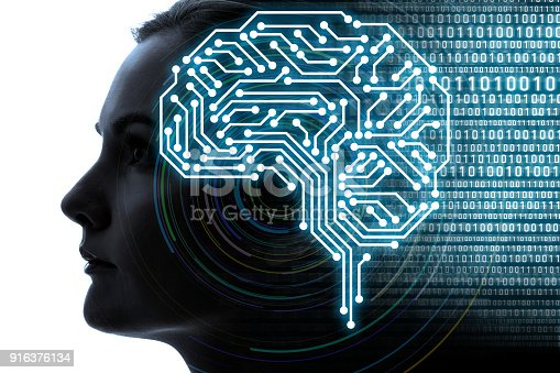istock AI(Artificial Intelligence) concept. 916376134