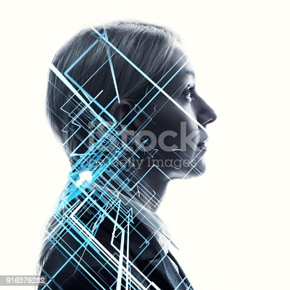 istock AI(Artificial Intelligence) concept. 916376282