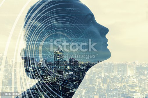 istock AI(Artificial Intelligence) concept. 916376336