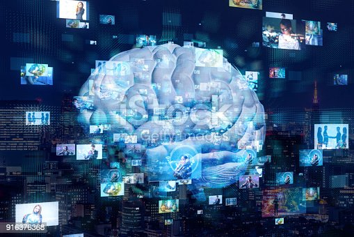 istock AI(Artificial Intelligence) concept. 916376368