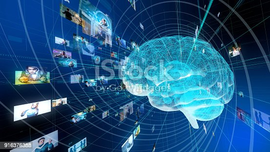 istock AI(Artificial Intelligence) concept. 916376388