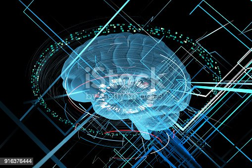 istock AI(Artificial Intelligence) concept. 916376444