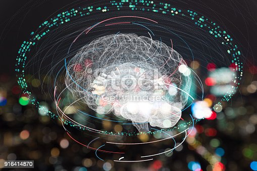 istock AI(Artificial Intelligence) concept. 916414870