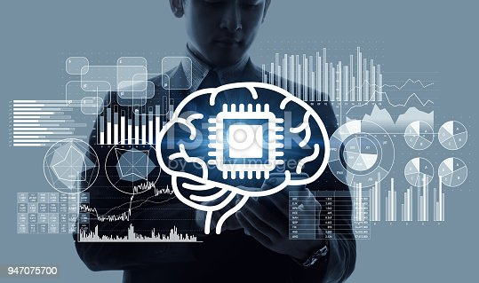 istock AI (Artificial Intelligence) concept. 947075700
