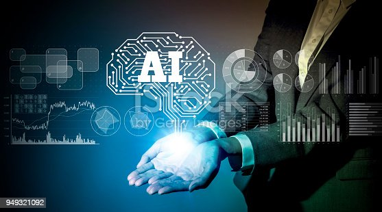 istock AI (Artificial Intelligence) concept. 949321092
