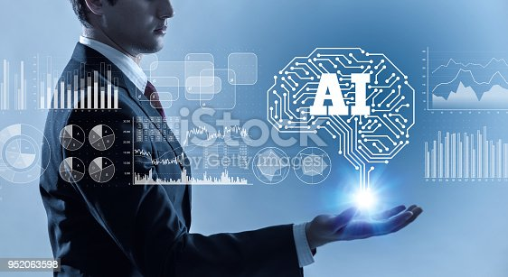 istock AI (Artificial Intelligence) concept. 952063598