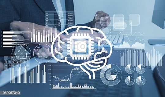 istock AI (Artificial Intelligence) concept. 952067040