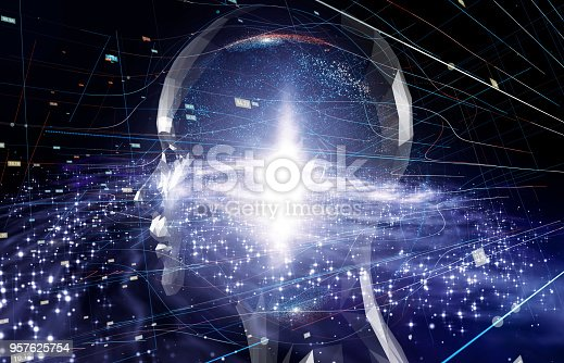 istock AI (Artificial Intelligence) concept. 957625754