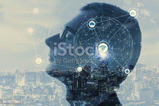istock AI (Aritificial Intelligent) concept. 957627962