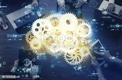 861122794 istock photo AI (Artificial Intelligence) concept. 957630026