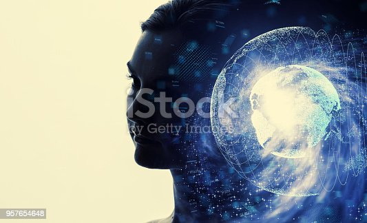 istock AI (Artificial Intelligence) concept. 957654648