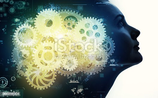 istock AI(Artificial Intelligence) concept. 966858904