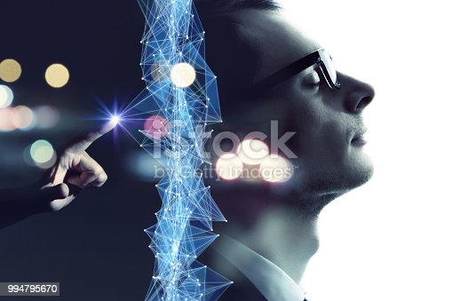 istock AI (Artificial Intelligence) concept. 994795670