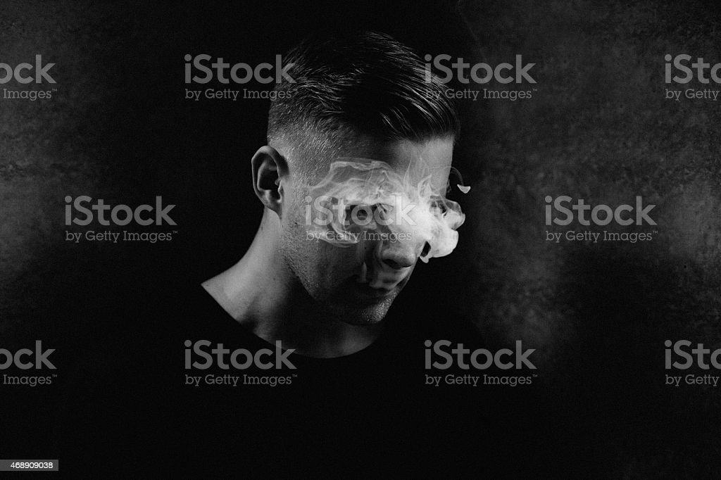 Concept Portrait stock photo