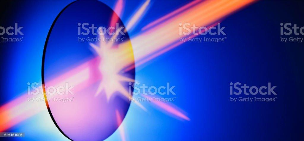 Concept Protective Lens stock photo