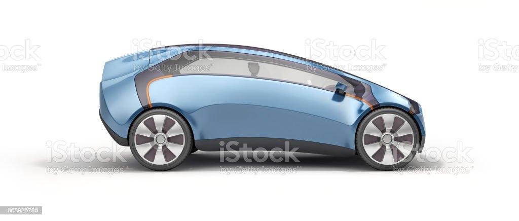 lado de vista concepto sport coche - foto de stock
