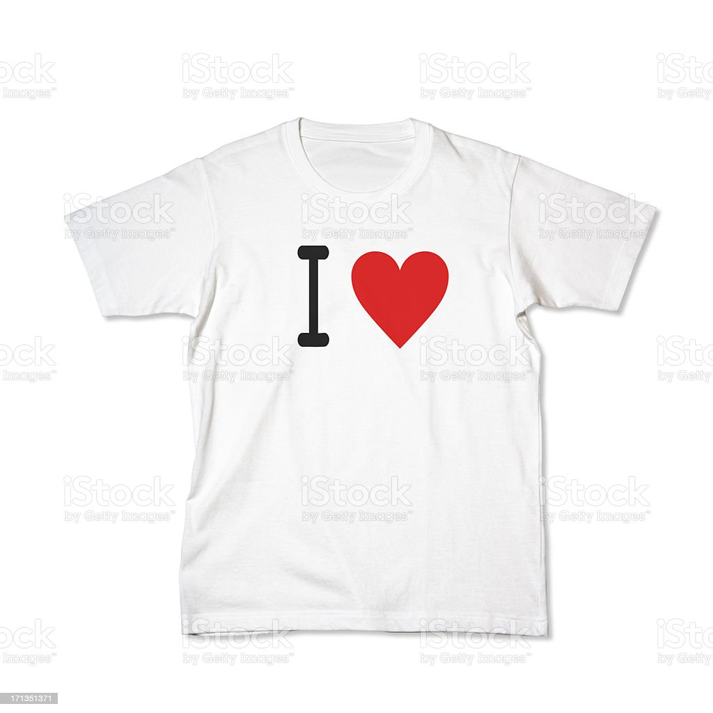 concept T-Shirt royalty-free stock photo