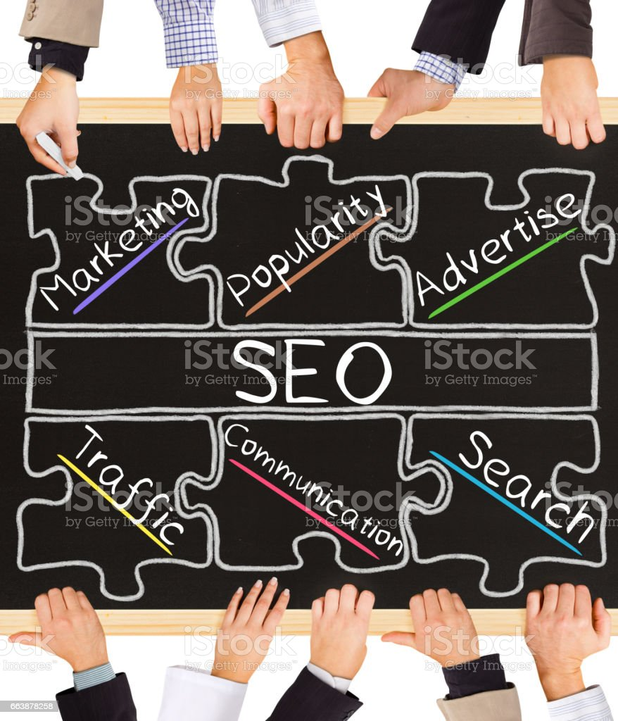 SEO concept words - foto stock