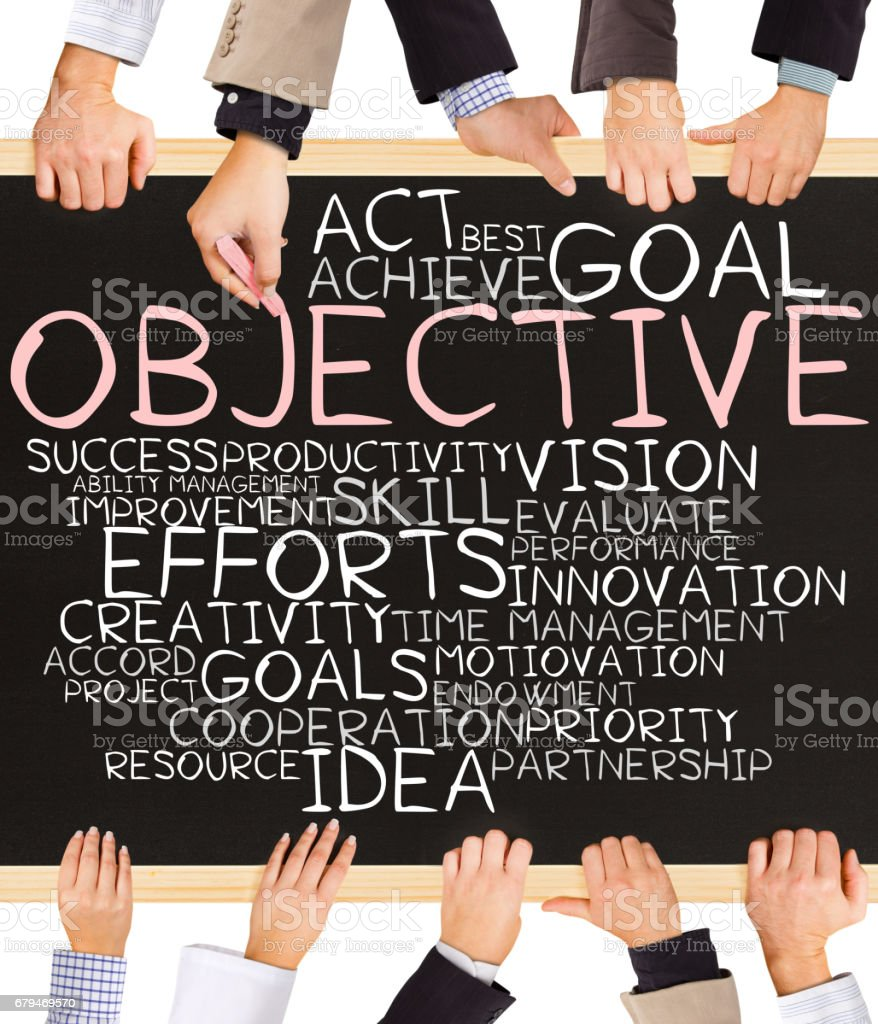 OBJECTIVE concept words 免版稅 stock photo