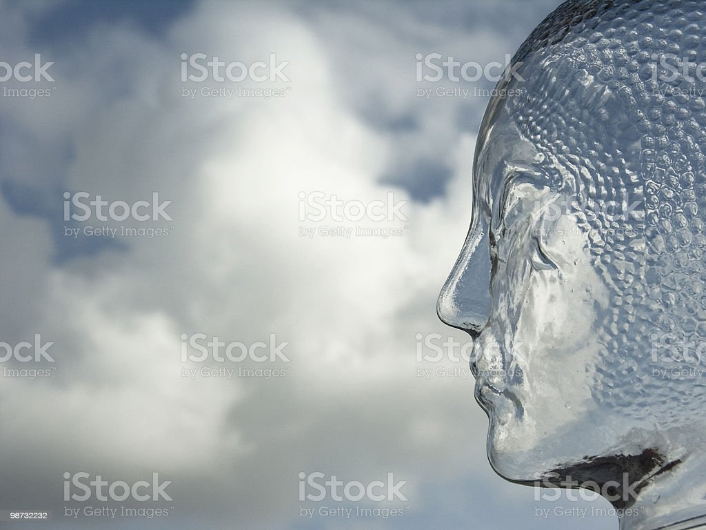 Concepts; The future's ahead royalty-free stock photo