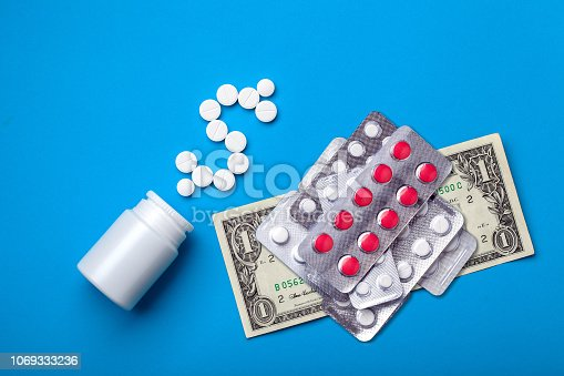 istock A conceptual background on the pharmaceutical industry. 1069333236