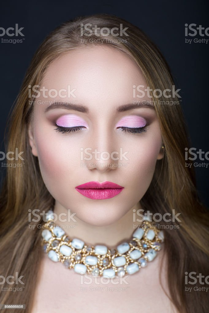 conceptual beauty beautiful make up stock photo