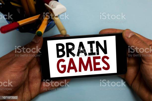 Conceptual hand writing showing brain games business photo showcasing picture id1071572022?b=1&k=6&m=1071572022&s=612x612&h=mrckvvpmd9pieqcz3ot 1enctggbj12y 3nmgbboshu=