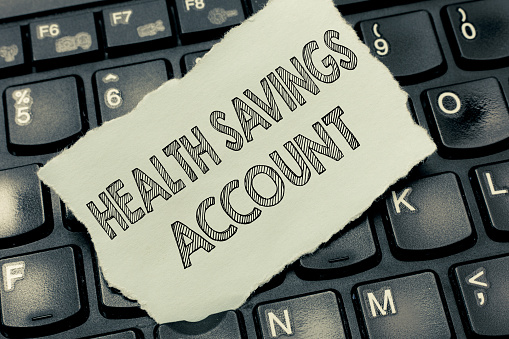 Conceptual Hand Writing Showing Health Savings Account ...