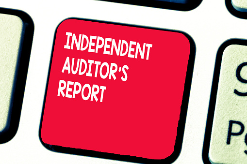 istock Conceptual hand writing showing Independent Auditor s is Report. Business photo text analyze Accounting and Financial Practices 1049736310