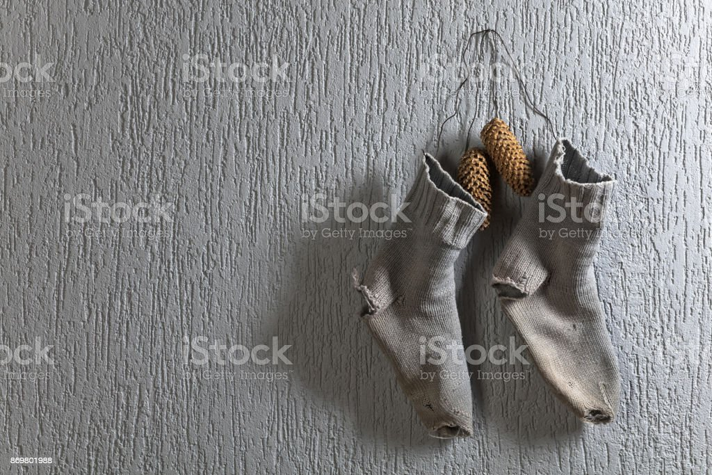 Conceptual image on the theme of charity. stock photo