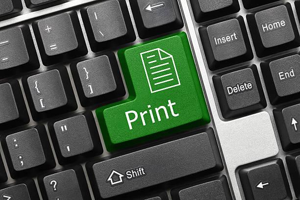 Konzeptionelle Tastatur-Aufdruck (green key) – Foto