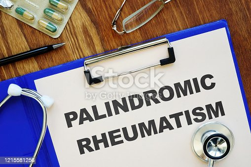 Conceptual photo showing printed text Palindromic rheumatism