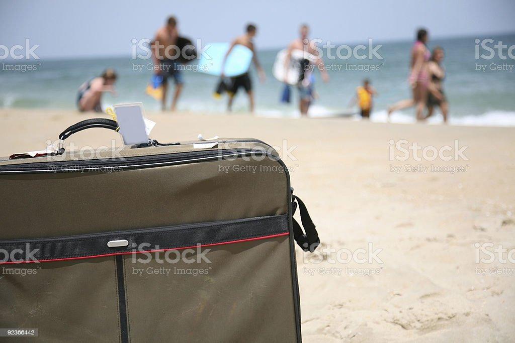 Conceptual shot of vacation travel royalty-free stock photo