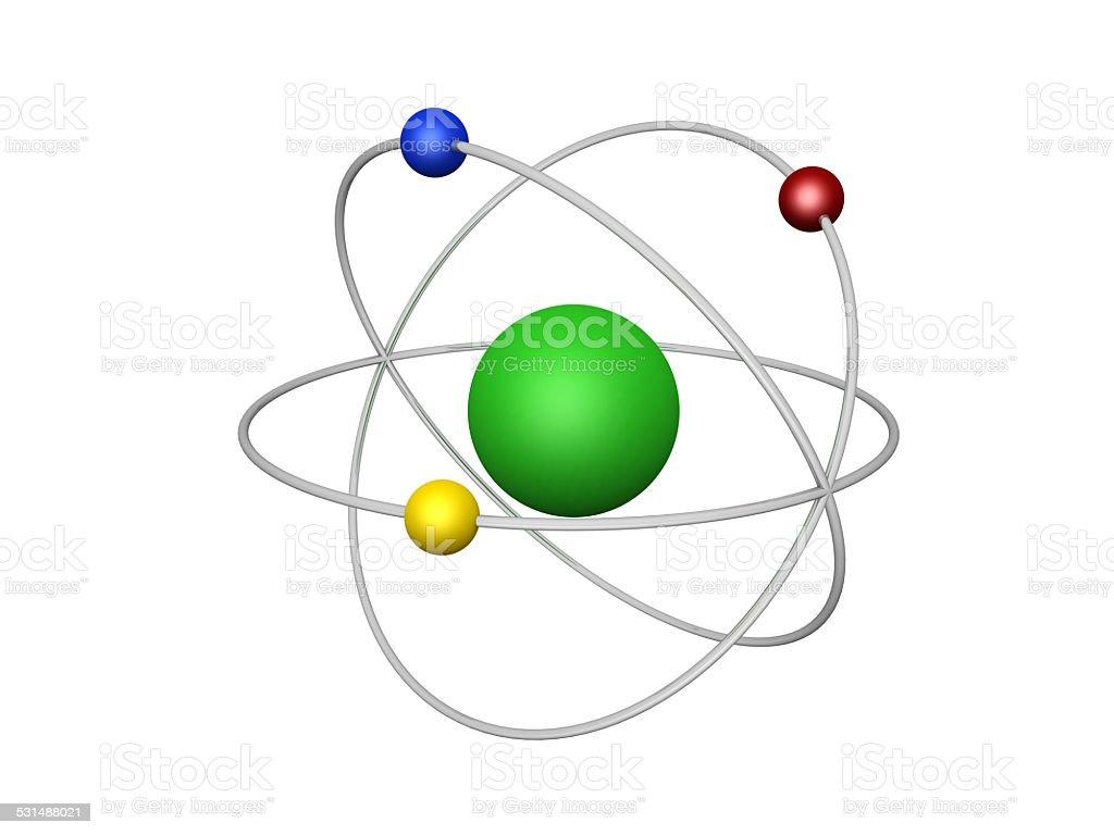 Foto De Conceitual Estrutura De átomo E Mais Fotos De Stock