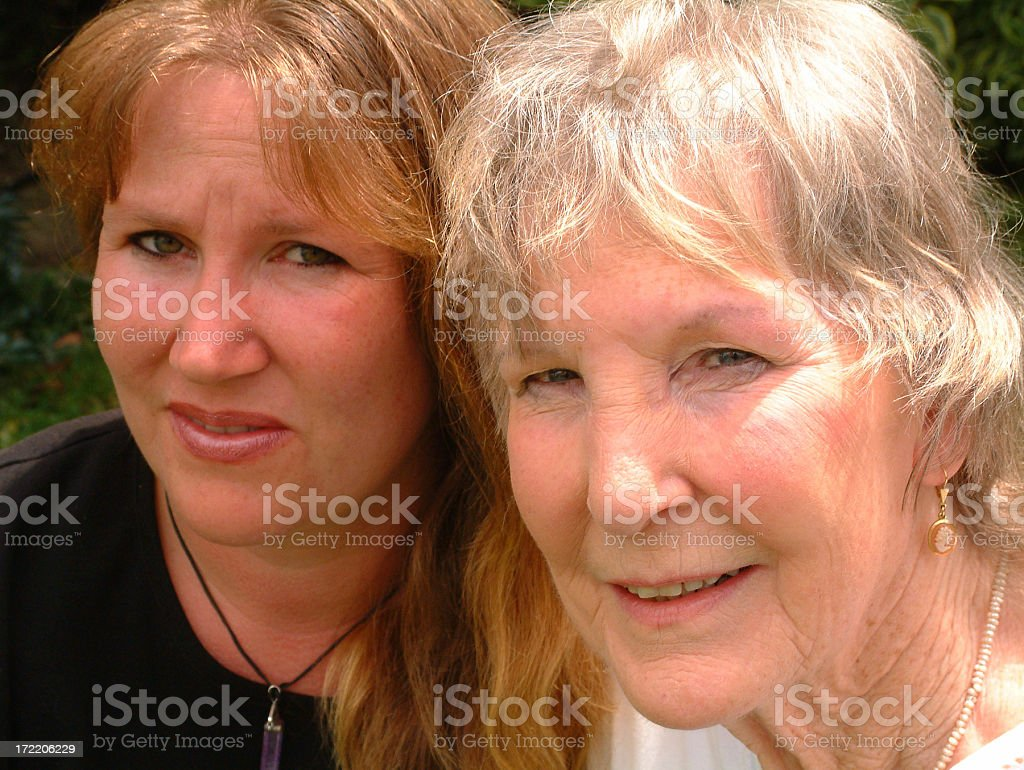 Concerned Family royalty-free stock photo