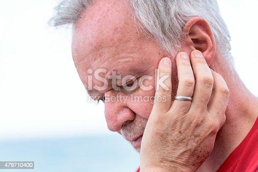 istock Concerned senior man 479710400