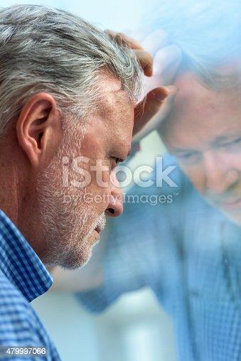 istock Concerned senior man 479997066