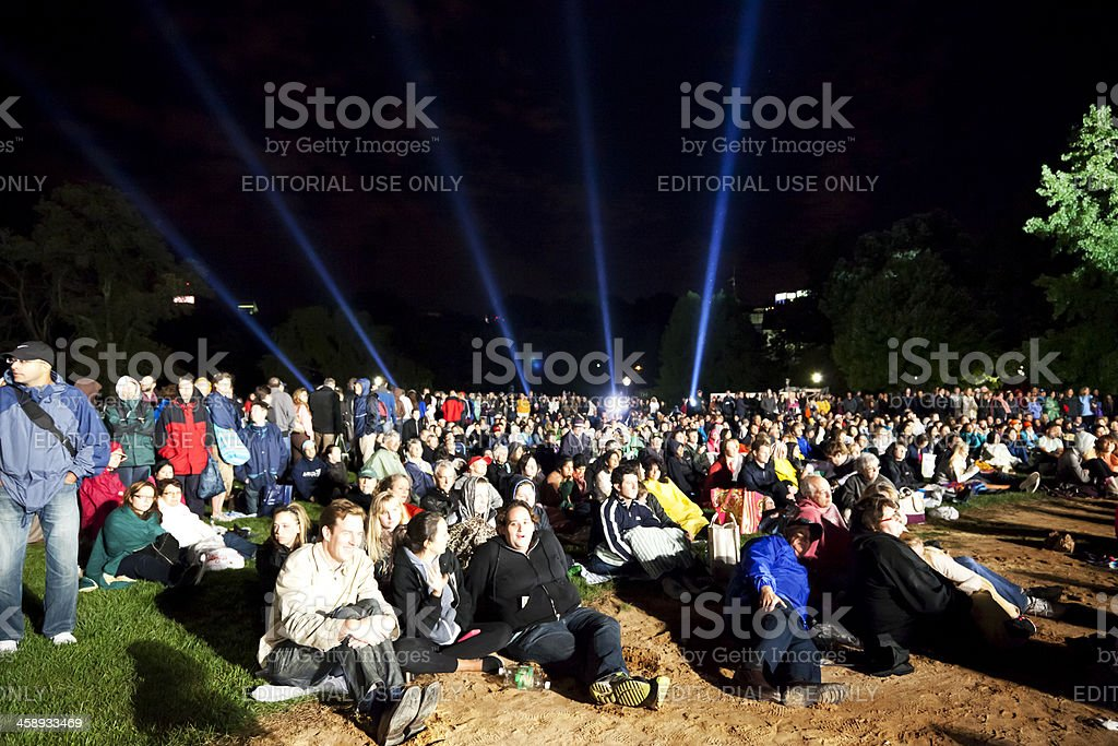 Concert Central Park New York City # 1 stock photo