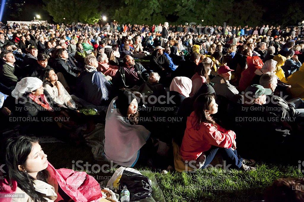 Concert Central Park New York City # 3 stock photo
