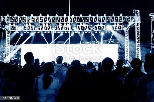 istock Concert crowd 482787306