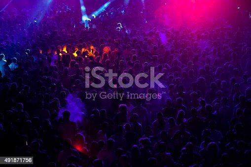 istock Concert crowd 491871756