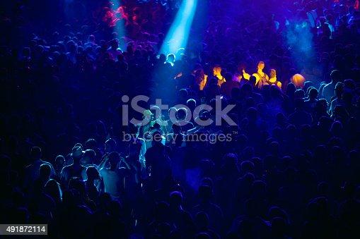 istock Concert crowd 491872114