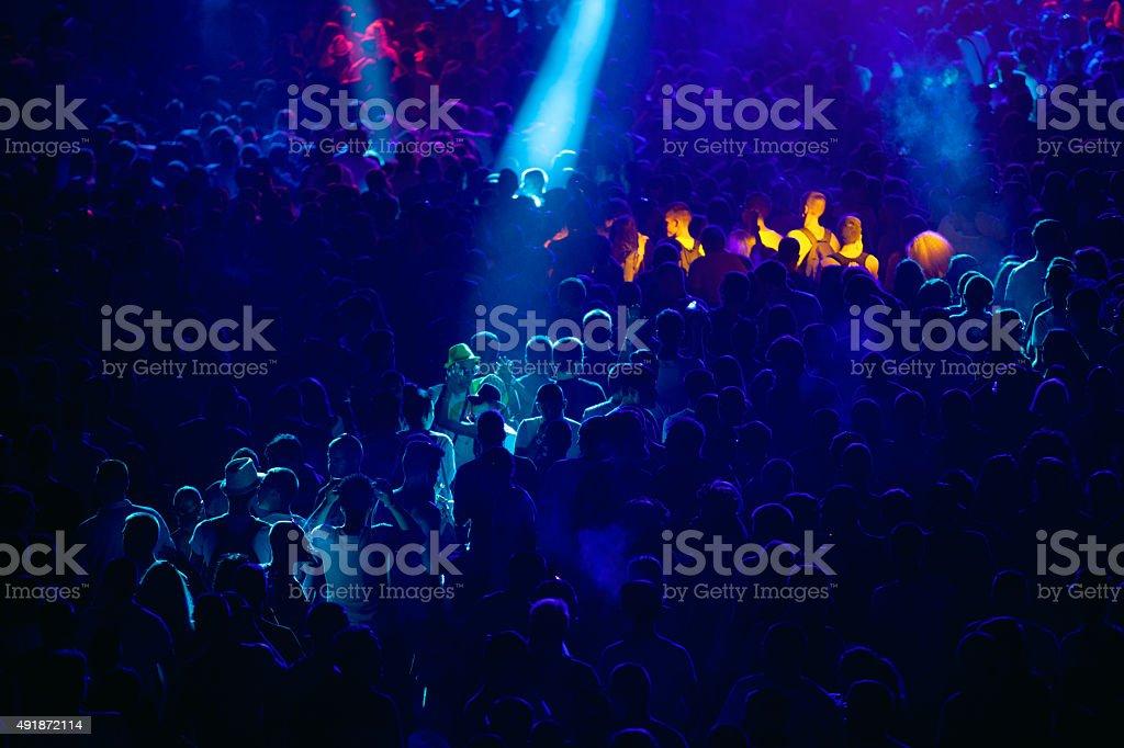 Konzert Menschenmenge – Foto