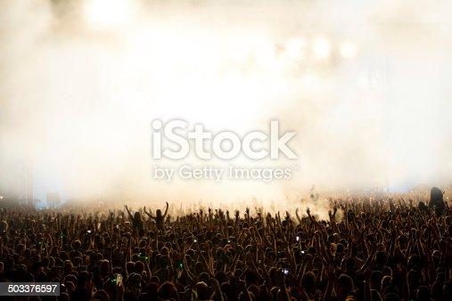 istock Concert crowd 503376597